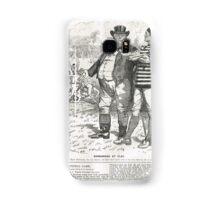 John Bull Brutal Rugby satire Punch 1888 Samsung Galaxy Case/Skin