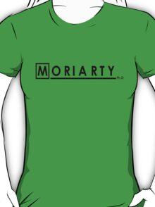Moriarty Ph.D (Black)  T-Shirt