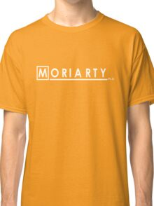 Moriarty Ph.D (White)  Classic T-Shirt