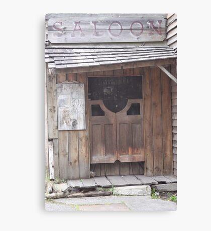 the saloon Canvas Print