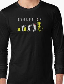 Evolution of Alien Long Sleeve T-Shirt