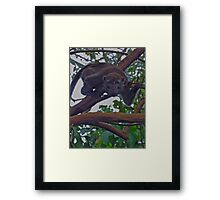 NATURALLY ~ WE'RE BEWILDERED BY COSMETICS! Framed Print