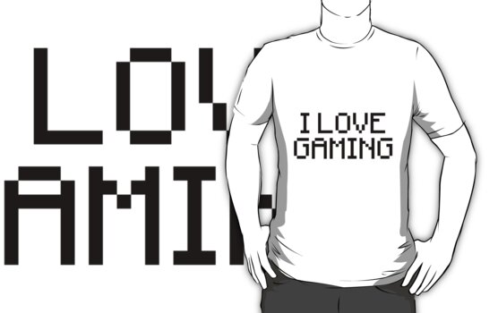 I Love Gaming by CaiNz