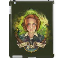 The Skeptic iPad Case/Skin