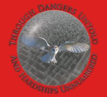 Labyrinth - Through Dangers Untold Kids Tee