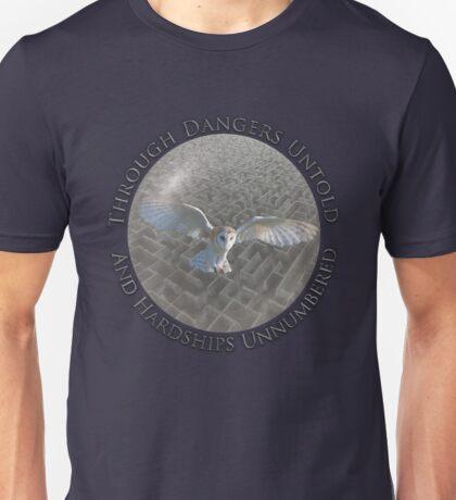 Labyrinth - Through Dangers Untold Unisex T-Shirt