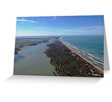 The Murray River Mouth Greeting Card