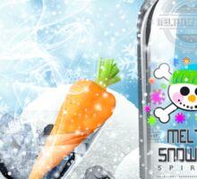 Holiday Cheer! (Melted Snowman Spirits) Sticker