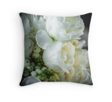 Lou's Blooms Throw Pillow