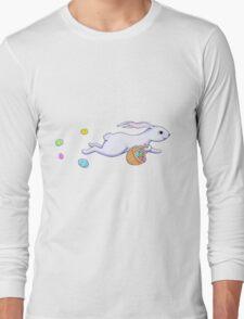 Easter Rabbit Run Long Sleeve T-Shirt