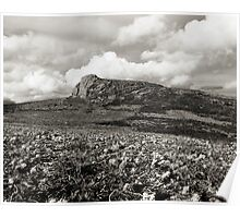 Unseen Rock - Haytor from the West Poster