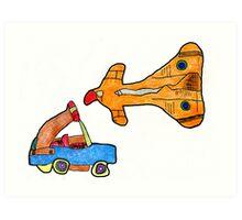 Toys Art Print