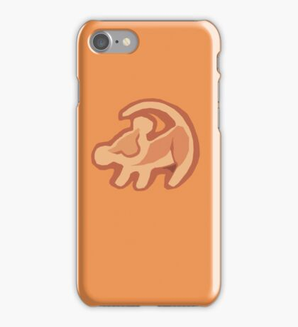 The lion king Simba iPhone Case/Skin