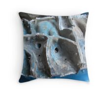Waterfall Mould Throw Pillow