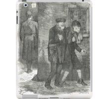 Jack the Ripper Punch Cartoon Whitechapel 1888 iPad Case/Skin