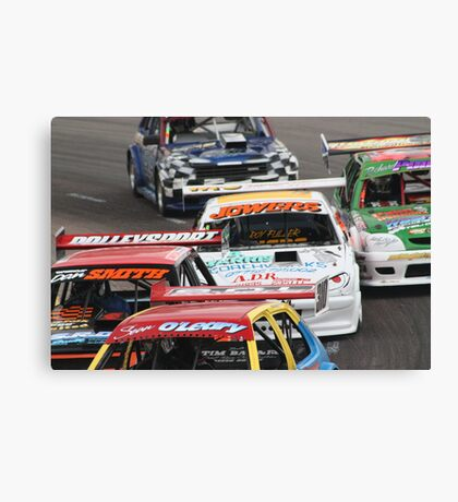 race day Canvas Print