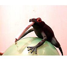 Smoking May Harm Your Frog Photographic Print
