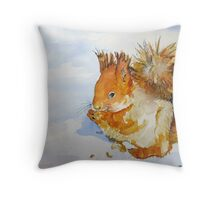 All Gods Creatures Throw Pillow