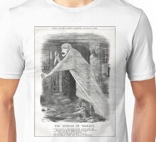 Jack the Ripper Punch Cartoon Nemesis of Neglect 1888 Unisex T-Shirt