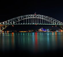 Sydney Opera House & Bridge | Autism Awareness 2012 by Bill Fonseca