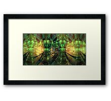 Centre of it all - Neither space nor time Framed Print