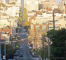Sutter Street, San Franicsco by David Denny