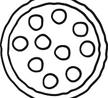 salami pizza round discs by Style-O-Mat