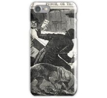 Jack the Ripper Punch Cartoon is Detection a failure? 1888 iPhone Case/Skin