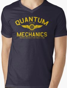 QUANTUM MECHANICS Mens V-Neck T-Shirt