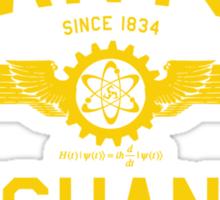 QUANTUM MECHANICS Sticker