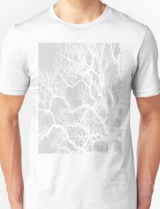 grey tree silhouette T-Shirt