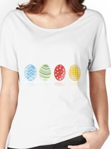 4 easter eggs Women's Relaxed Fit T-Shirt