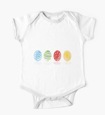 4 easter eggs One Piece - Short Sleeve