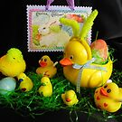 Easter With Mom, the Kids and a Cousin by WildestArt