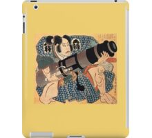 Japanese Print:  Concealed Carry iPad Case/Skin