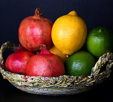 Basket of Fruits  by Jessica Annalee