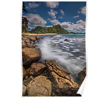 Hot Water Beach Driftline Poster