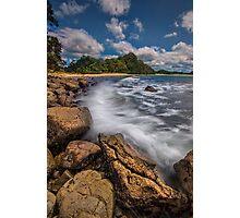 Hot Water Beach Driftline Photographic Print
