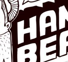 Handbeard Sticker
