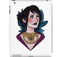 Morrigan - feathers (original) iPad Case/Skin