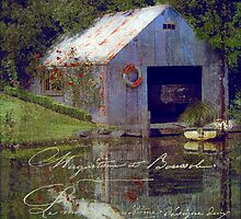 The French Boathouse 2 by Karen Lewis