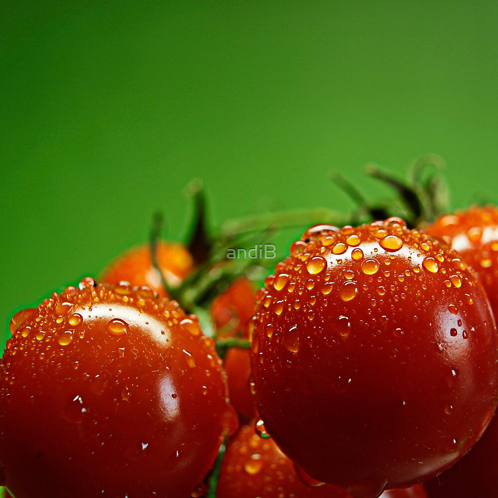 Red and green by Andreas  Berheide