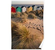 Southwold beach Poster