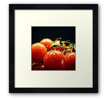 Fresh and red Framed Print