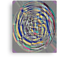 Digital 'Stained Glass' Photo Canvas Print