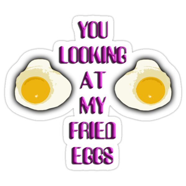 Fried Eggs T-Shirt by kmercury