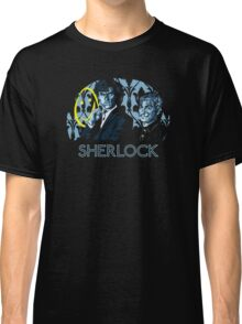 Sherlock - A Study in Blue Classic T-Shirt