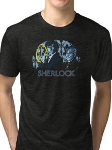 Sherlock - A Study in Blue Tri-blend T-Shirt