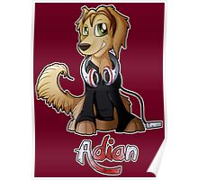 Adian - Music Canine Poster