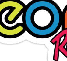 Neon Racing Sticker